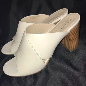 Cole Haan Gabby White Sandals